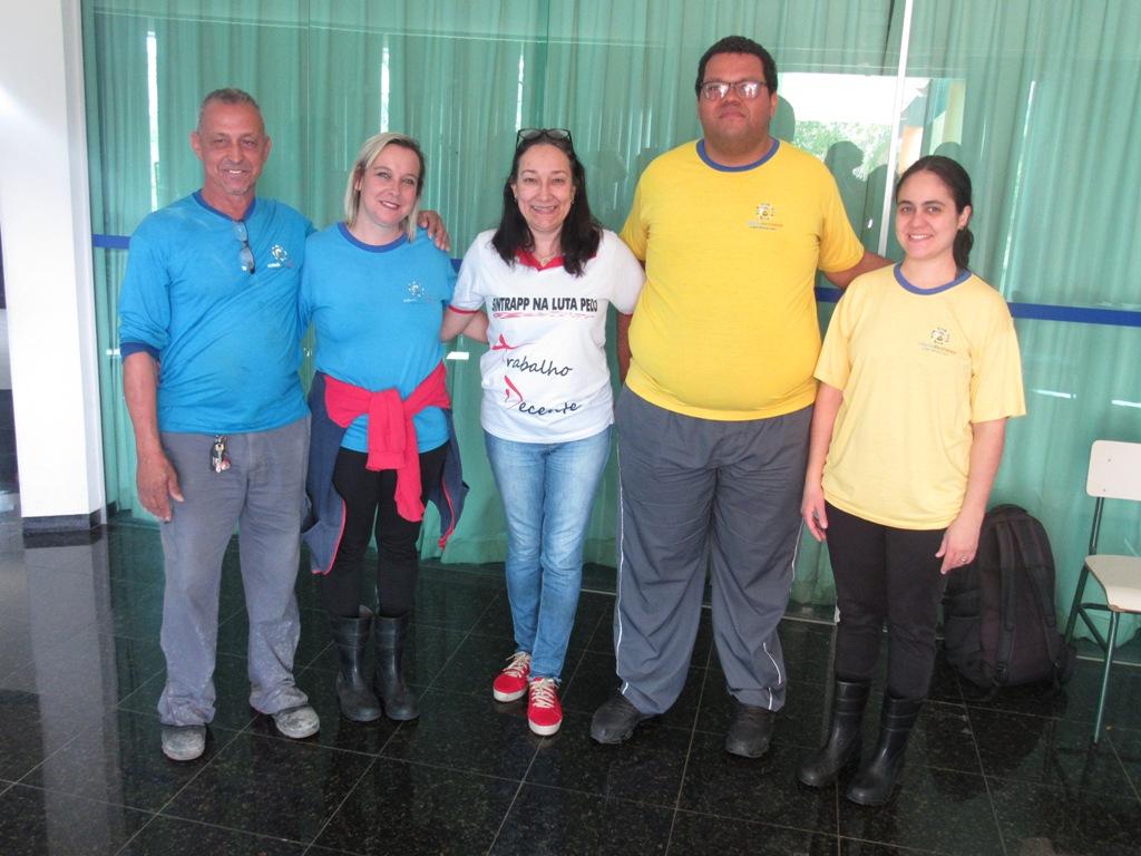 Representantes da CIPA na Cidade da Criança são eleitos