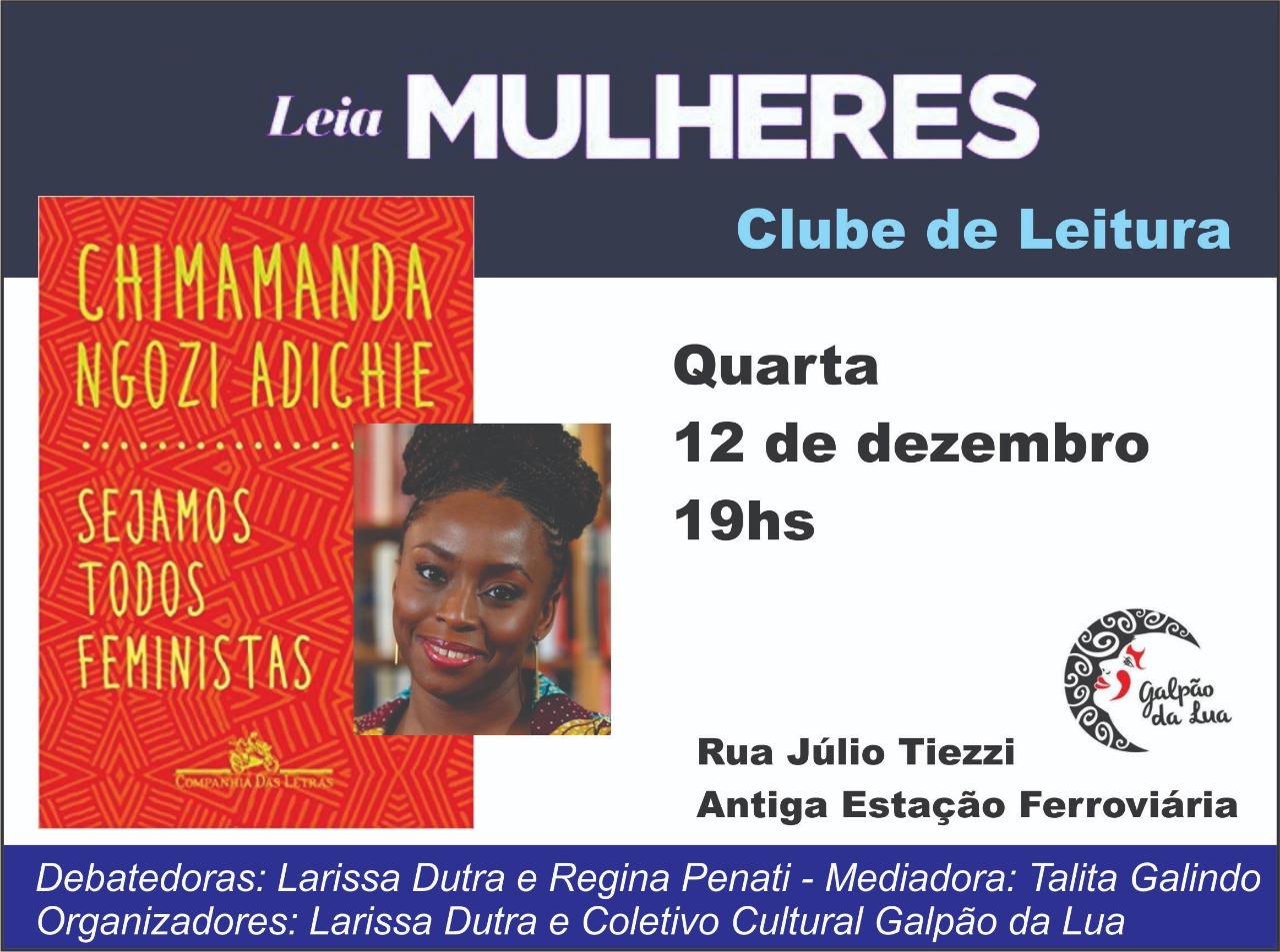 Clube de Leitura – Leia Mulheres