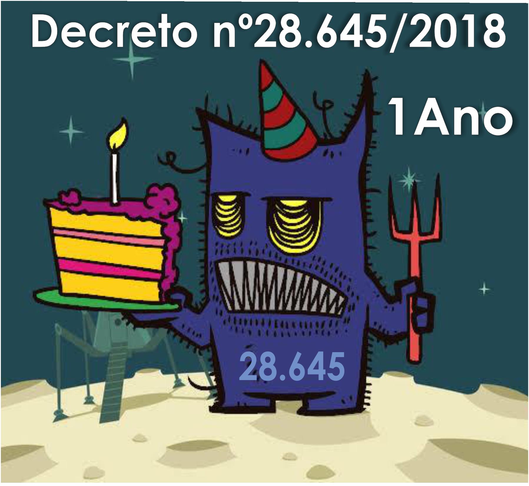 Aniversário do Decreto 28.645/2018