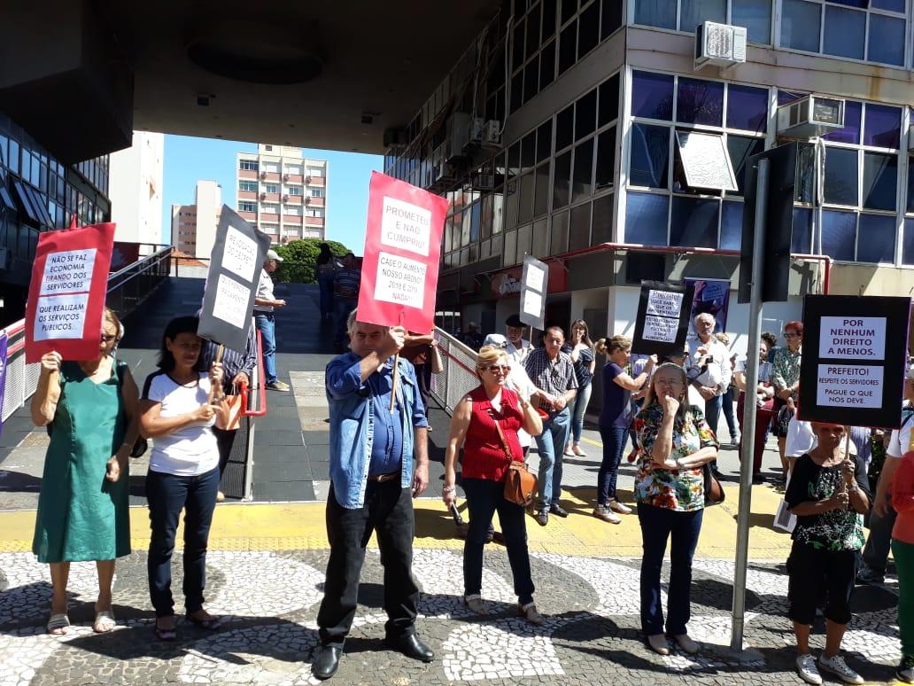 Ato da Campanha Salarial se une à mobilização contra a reforma da Previdência