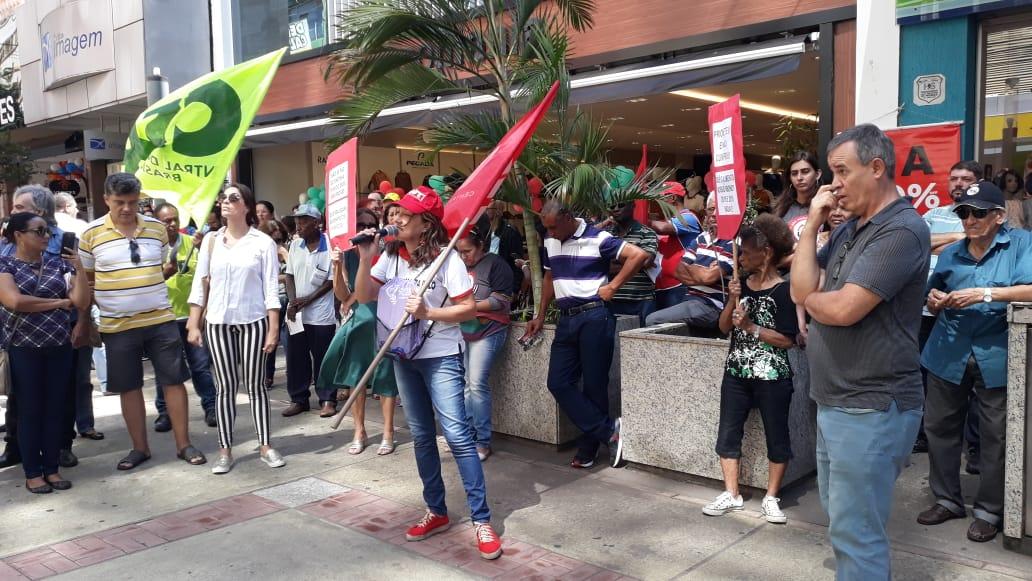 Dia Nacional Contra a Reforma da Previdência em Presidente Prudente