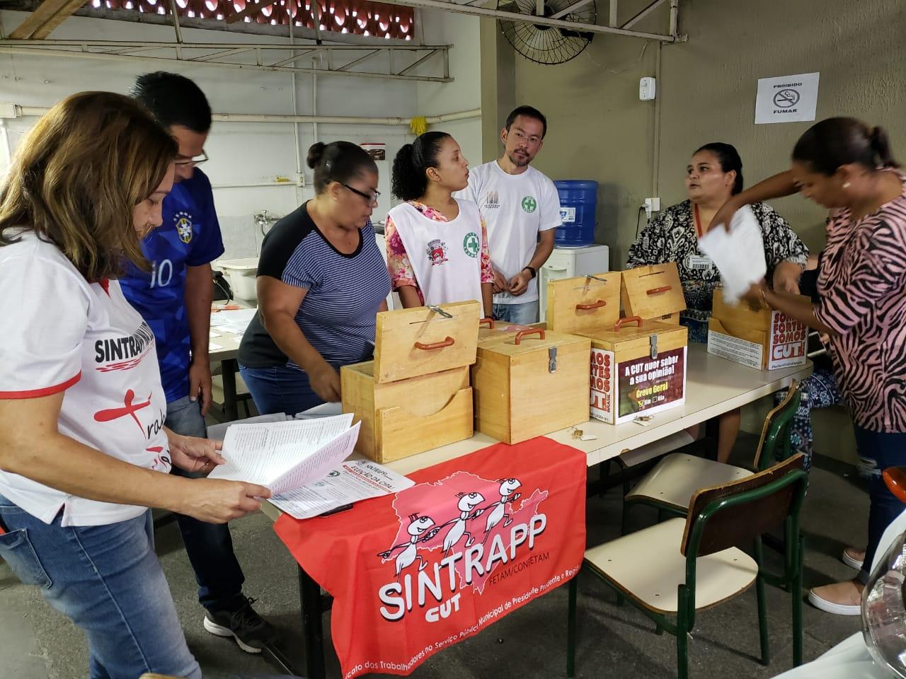 Sindicato acompanha eleição da Cipa