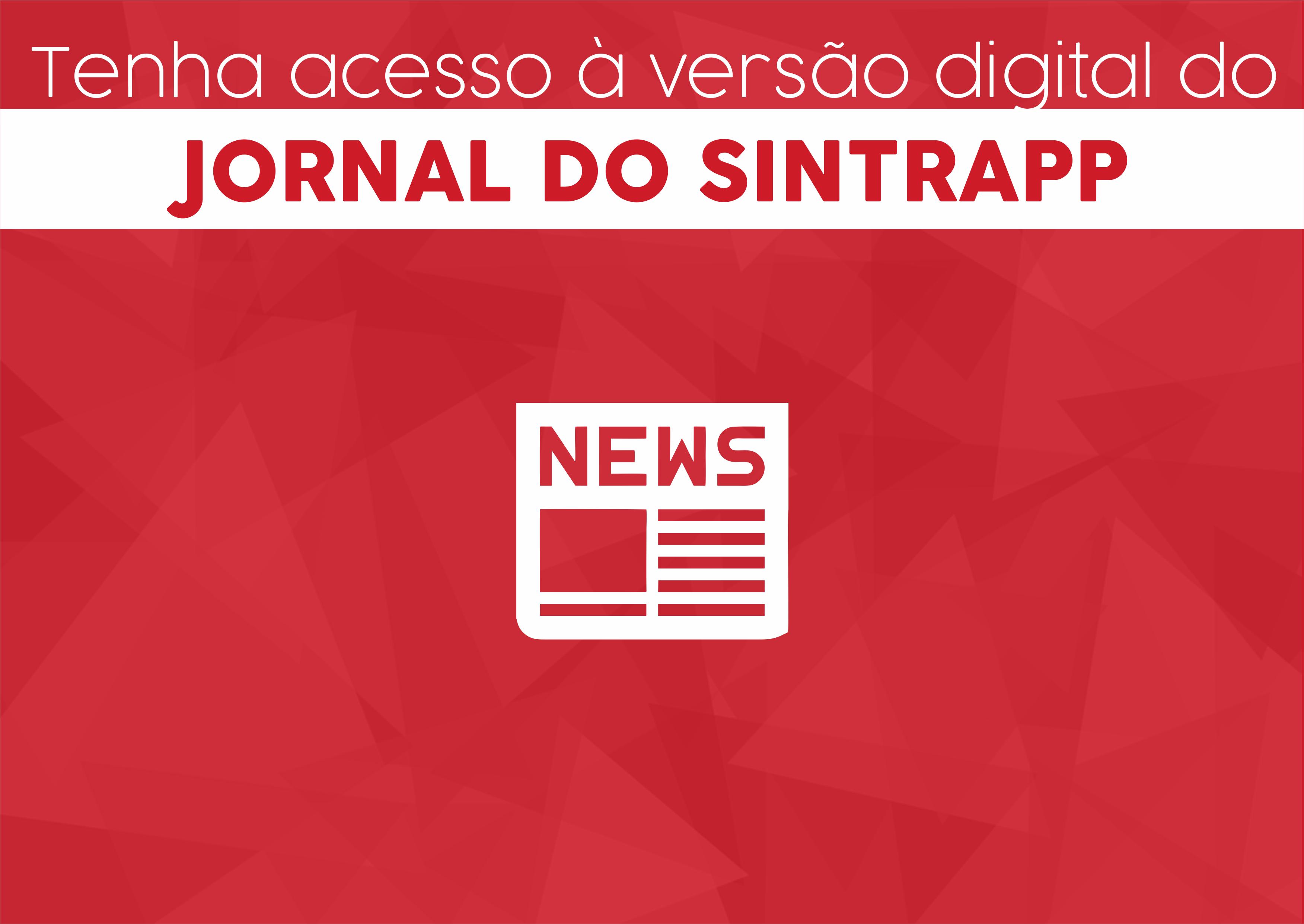 Tenha acesso digital ao Jornal do Sintrapp