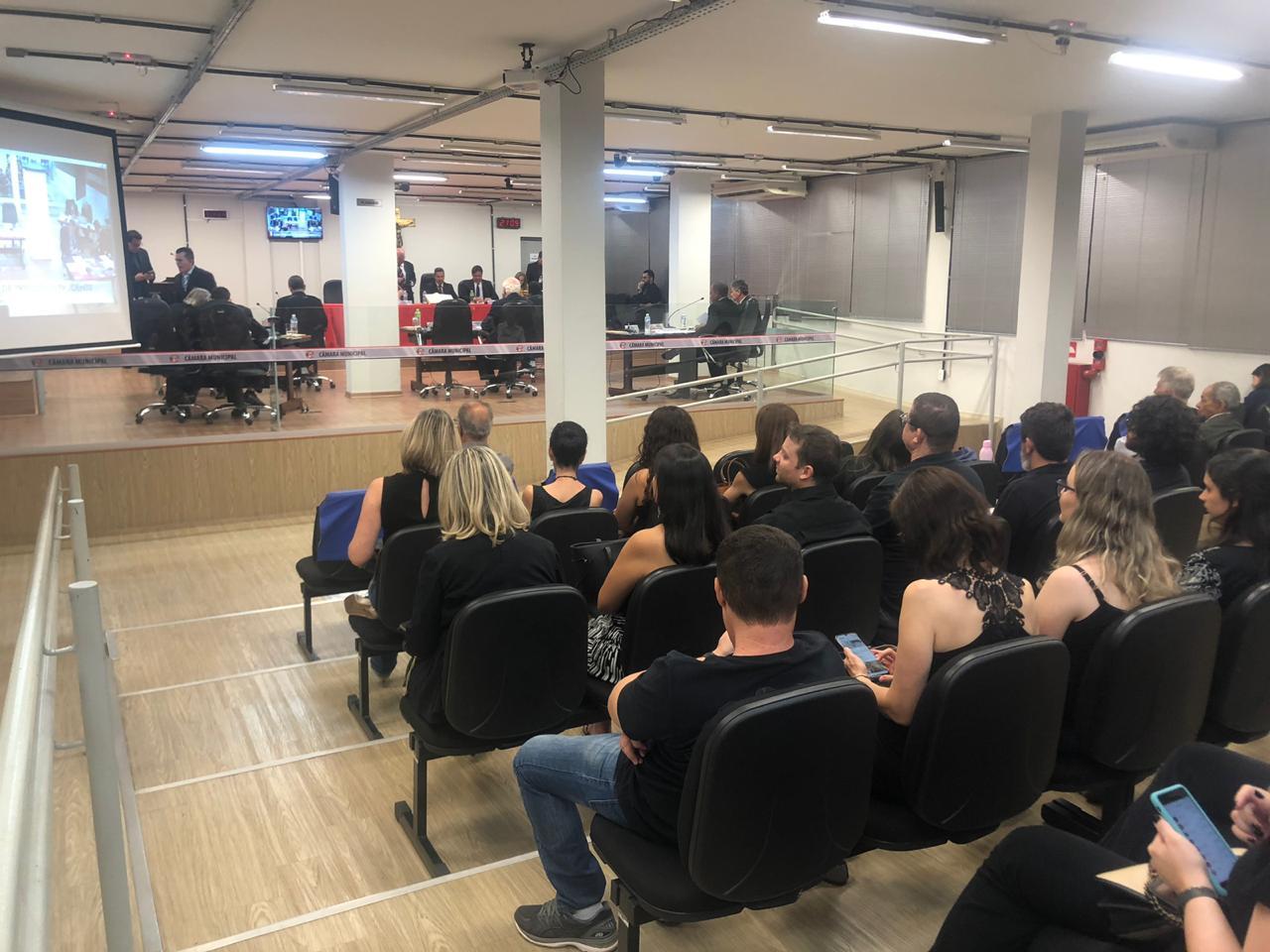 Sintrapp participa da sessão da Câmara para acompanhar a entrega da LDO