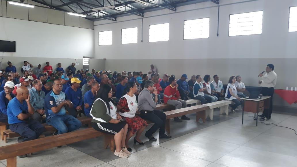 SINTRAPP participa da 9ª  SIPAT – Semana Interna de Prevenção de Acidentes Trabalho