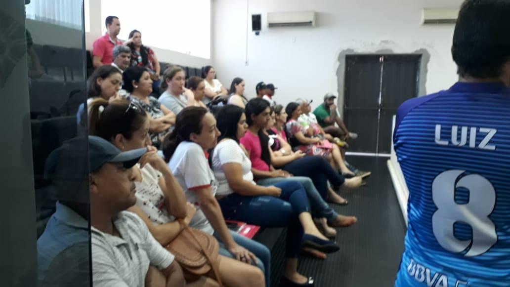 Sintrapp presente na sessão da Câmara em Mirante para reivindicar adiamento na votação do Projeto do tão sonhado vale alimentação