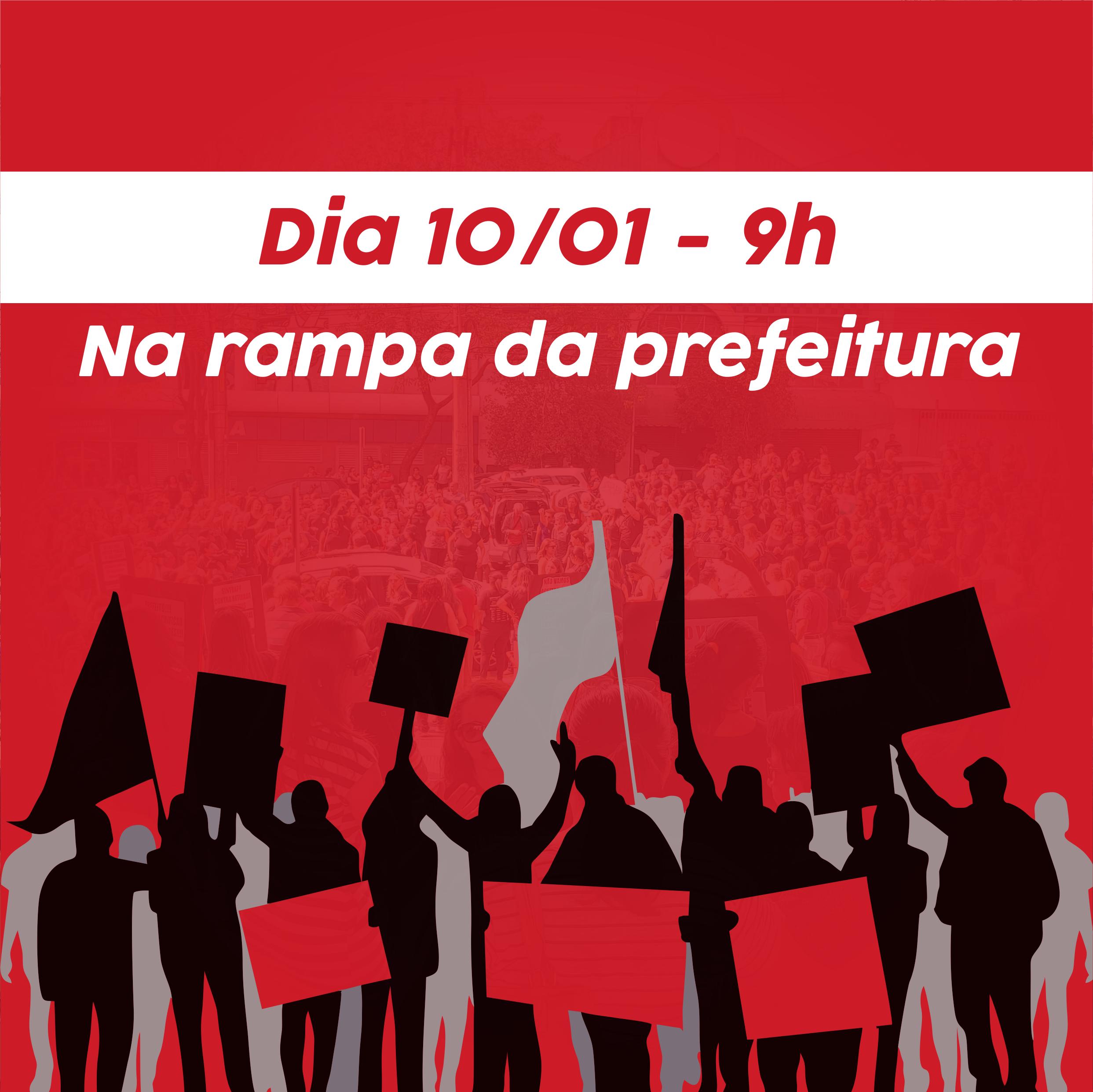 Após reunião, sindicato convoca categoria para exigir cumprimento de seus direitos