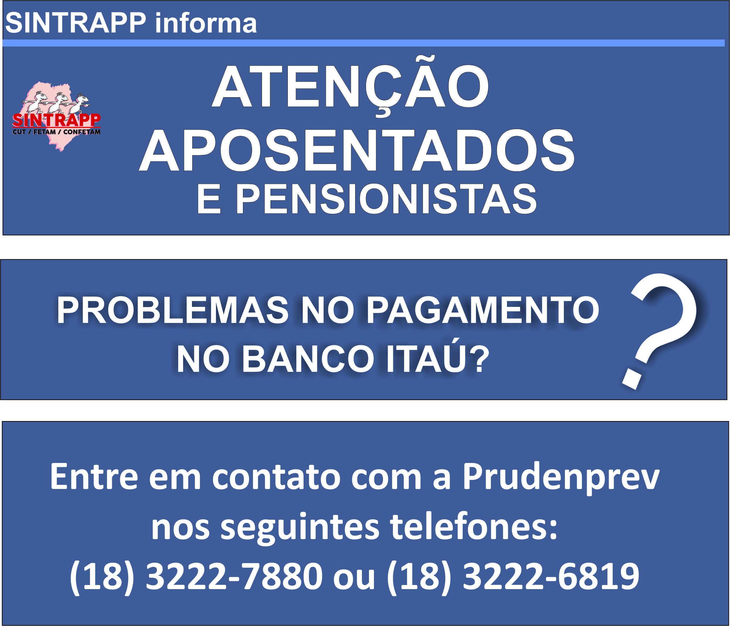 Aposentados enfrentam problemas com pagamentos no Itaú