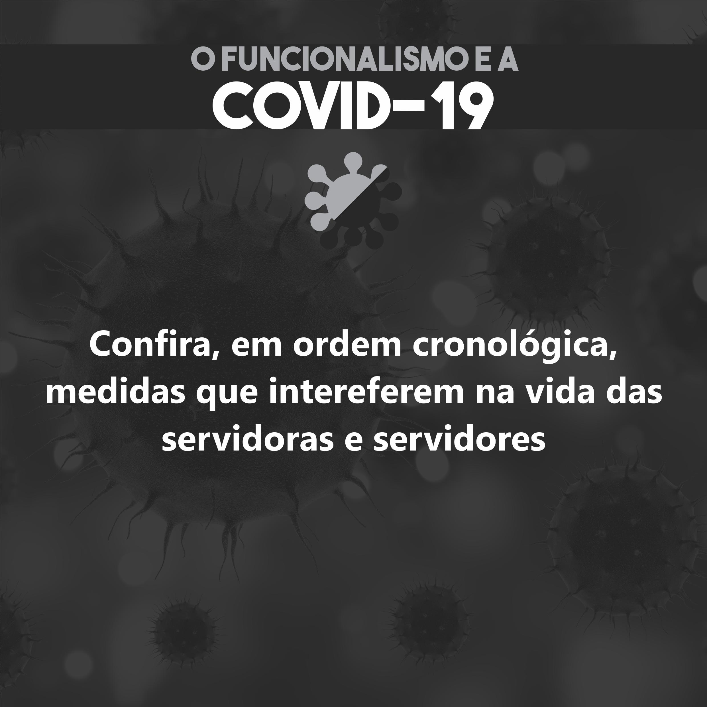 Lista de decretos sobre o novo Coronavírus