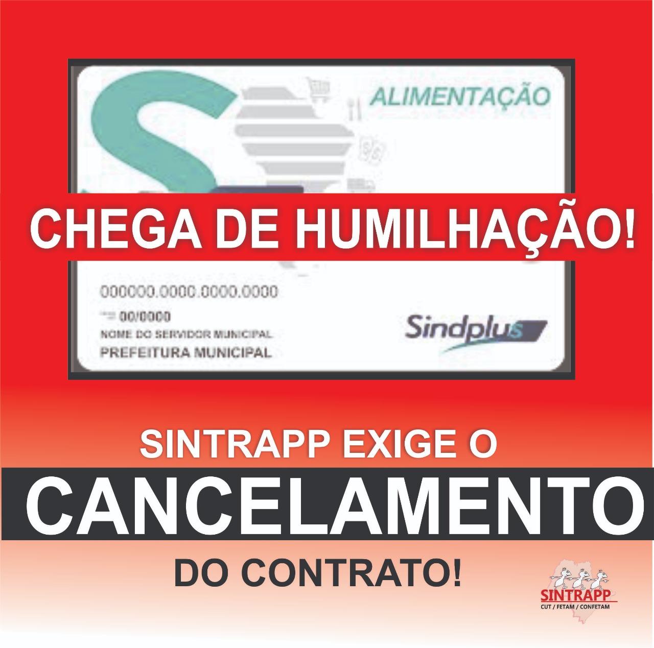 Sindicato exige suspensão imediata do contrato com a SindPlus