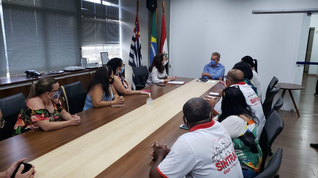 Sintrapp se reúne com nova administração e inicia mesa de negociação