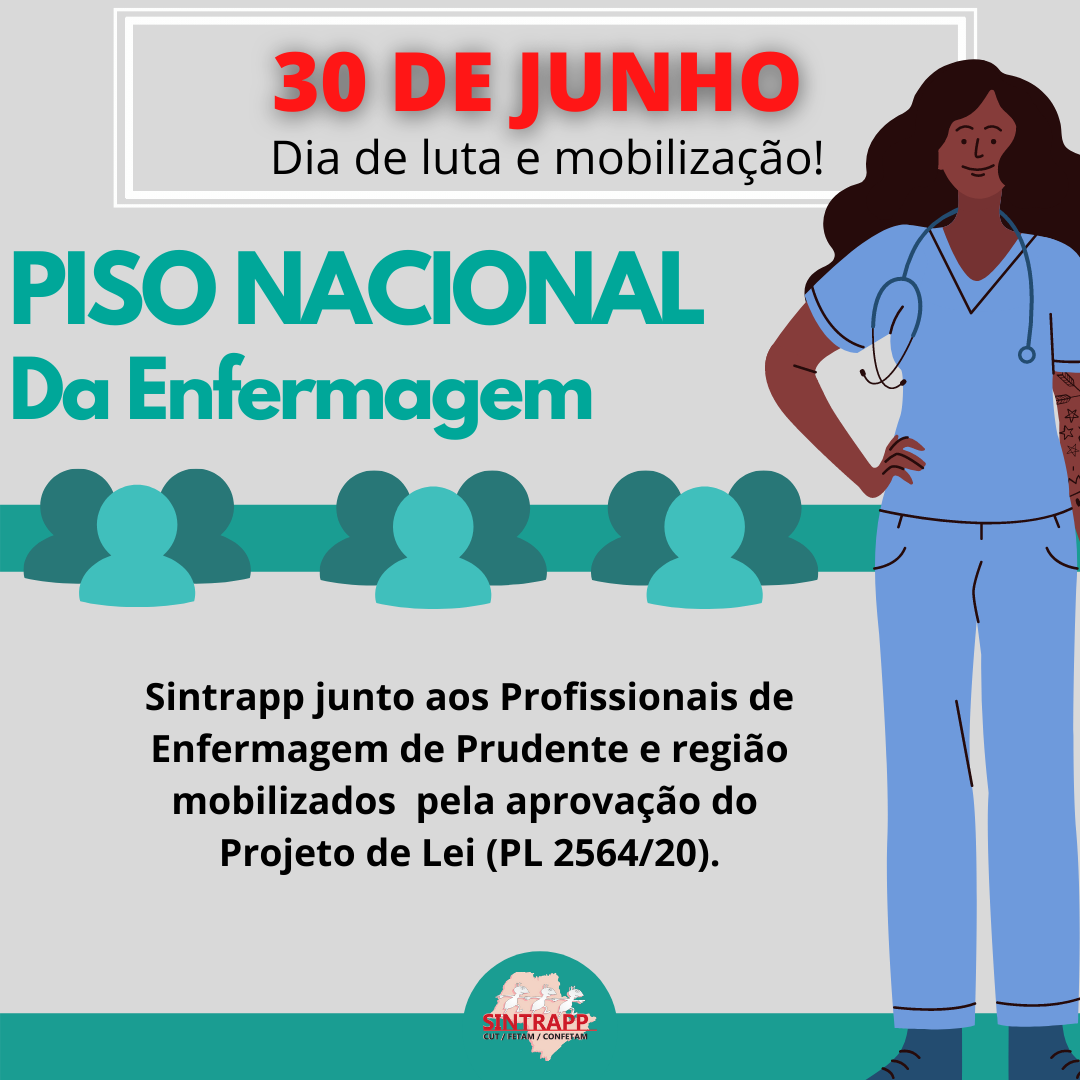 Sintrapp busca apoio da Câmara na luta pela aprovação do Piso da Enfermagem
